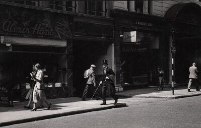 Ernst Haas, 'Regent Street, London', 1949