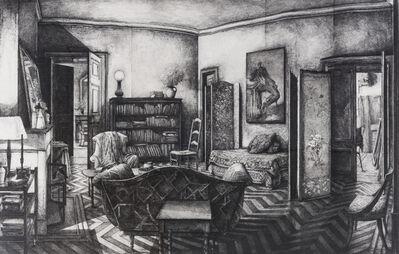 Erik Desmazières, 'Intérieur à Pressy', 1991
