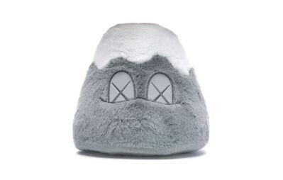 KAWS, 'KAWS: HOLIDAY Japan Mount Fuji Plush Toy (Grey)', 2019