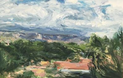 Fran Lightman Gibson, 'Mountain and Sky Steps', 2015