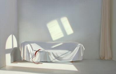 Edite Grinberga, 'Zimmer mit Sofa und Spiegelung', 2014
