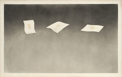 Ed Ruscha, 'Three Sheets with Raisin Stains', 1973