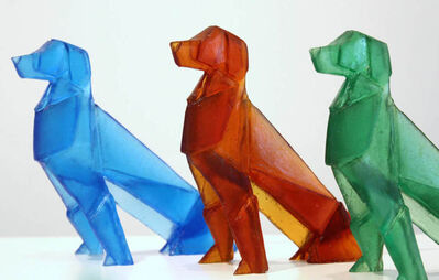 Tom Barter, 'Origami Dogs', 2021