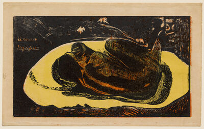 Paul Gauguin, 'Manao Tupapau (Watched by the Spirit of the Dead)', 1894