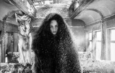 David Yarrow, 'The Girl Who Cried Wolf', 2020