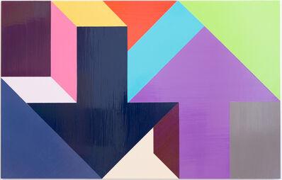 Tony Tasset, 'Arrow Painting 23', 2015