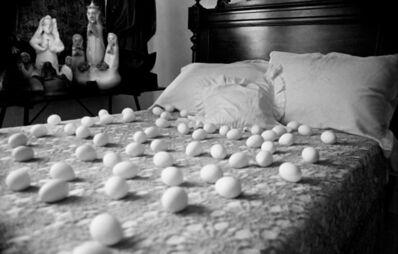 Anna Maria Maiolino, ' Untitled from Vida Afora (A Life Line) series - Photopoemaction', 1981/2009