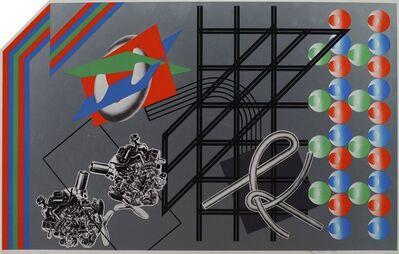 Peter Phillips, 'Doublebubblebrain', 1968