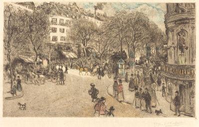 Jean François  Raffaëlli, 'Le Boulevard des Italiens', 1908