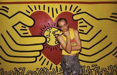 Lynn Goldsmith, 'Keith Haring', 1985