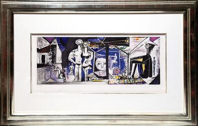 Pablo Picasso, 'Jeux de Plage, 8-B', 1979-1982