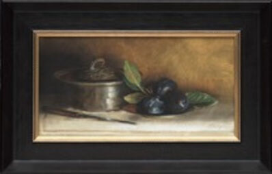 Anne McGrory, 'Pewter & Plums', 2020