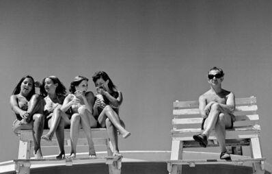 Joseph Szabo, 'Lifeguard's Dream', 1972