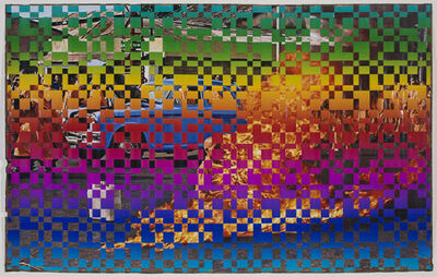Dinh Q. Lê, 'Immolation in Additive and the Subtractive Colors', 2013