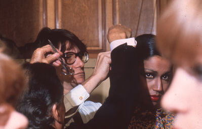 Harry Benson, 'Yves St. Laurent and Kirat Young', 1977