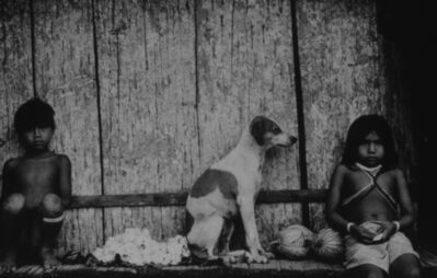 Mirella Ricciardi, 'Marubo Children and Dog Resting', 1965-1970
