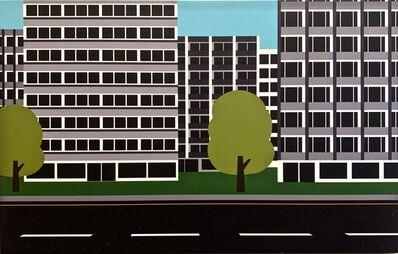 Julian Opie, 'Roadscape 25', 2000