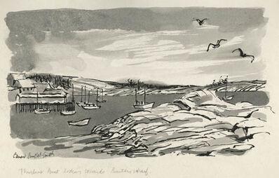 Bernard Brussel-Smith, 'Thurlows Point Looking Towards Barters Wharf [Deer Isle, Maine]', ca. 1954