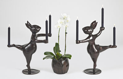 Hubert Le Gall, 'Giselle and Albrecht Candleholders', 2020