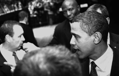 """G.R.A.M., 'from the series Paparazzi """"Barak Obama""""', 2008"""