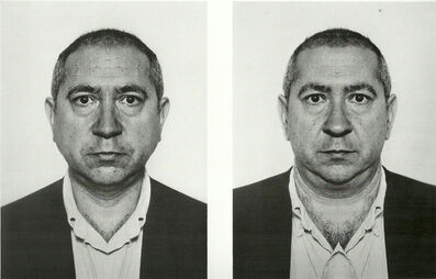 Jiří David, 'Christian Boltanski, from the series Hidden Image', 1991-1995