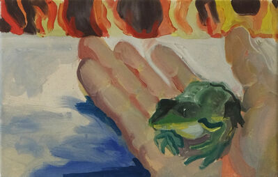 Paula Breuer, 'Kleiner Frosh', 2021