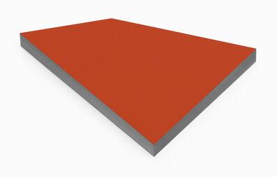 Wolfram Ullrich, 'O.T. (cadmium red)', 2017