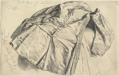Adolph Menzel, 'The Vest of August the Strong', 1840