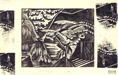 Paul Nash, 'Garden Pond', 1922