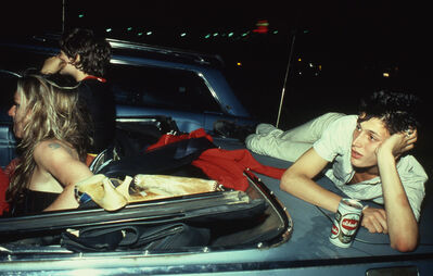 Nan Goldin, 'French Chris at the Drive-in, NJ', 1979