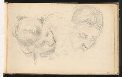 Paul Cézanne, 'Two Heads of Women', 1890/1894