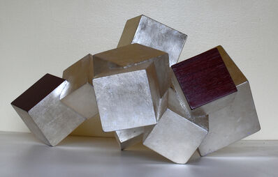 Chloe Hedden, 'Sterling Silver and Purple Heart Pyrite', 2019