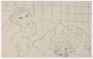 Henri Matisse, 'Jeune Femme et son Chien', 1929