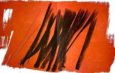 Hans Hartung, 'Farandole', 1971