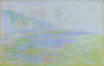 Theodore Earl Butler, 'Cliffs and Sea', ca. 1900