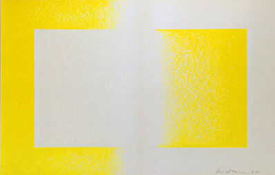 Richard Anuszkiewicz, 'Yellow Reversed', 1970