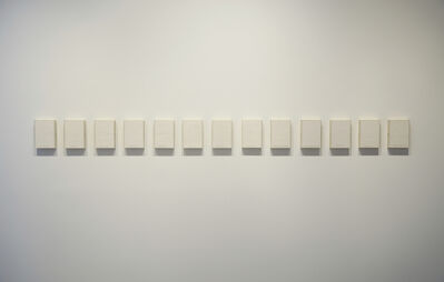 Roberta Allen, 'Partially Trapped Lines', 1975
