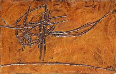Achille Perilli, 'Eburneo', 1958