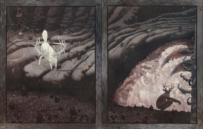 Tom Uttech, 'Skull River Diptych', 1976