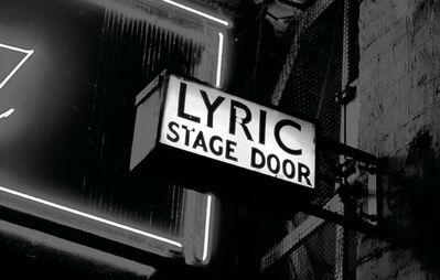 João Penalva, 'Lyric Stage Door', 2006