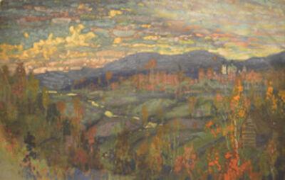 Vasily Leontevich Martynov, 'Autumn in Neva River', 1913