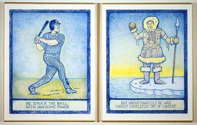 Glen Baxter, 'Baseball', 2000