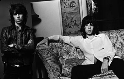 Norman Seeff, 'Sessions Spread; Keith Richards & Mick Jagger, Los Angeles', 1972