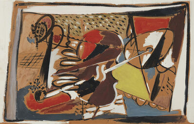 Arshile Gorky, 'Musical Abstraction', 1928