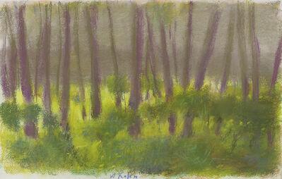 Wolf Kahn, 'Focused on the Undergrowth', 2003