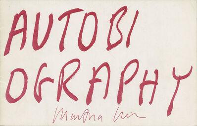 Martha Wilson, 'Autobiography', 1979