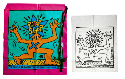 Keith Haring, 'Pop Shop shopping bags', 1986