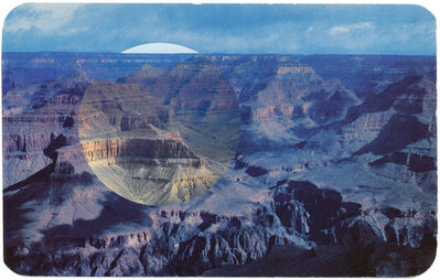 Mark Klett, 'View from Hopi Point (Blue)', 2010