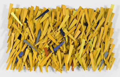 Ricardo Cardenas, 'Yellow Rain', 2018