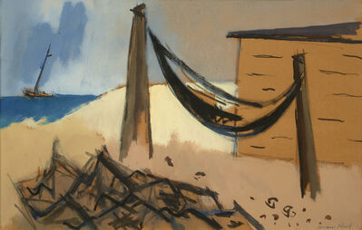 Herman Maril, 'Fisherman's Shack', 1973